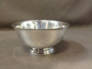 International Silver Co Sterling Silver Bowl Paul Revere D261