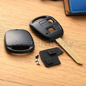 2 Btn Car Remote Key Case Shell Fit For Toyota Yaris Core Hatchback 4 Door