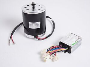 500 W 24v Dc Electric Motor Kit With Control Box F Scooter Ebike Gokar