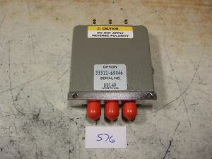 Hp 33311 60046 18 Ghz 15vdc Coaxial Spdt Switch New