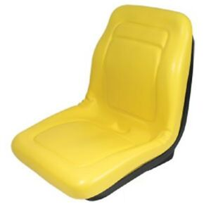 New 18 Yellow Seat Vg11696 For John Deere Gator 4x2 4x4 4x6 Replaces Am121752