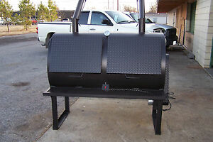 3660 Rotisserie Bbq Grill Smoker Cooker On Legs By Heartland Cookers