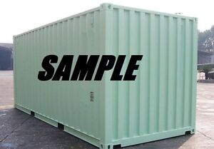 New One Trip 20ft Shipping Container Storage Container For Sale In Atlanta Ga