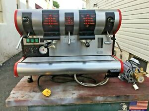 San Marco 3 Group Commercial Espresso Machine Cappuccino Latte Made In Italy