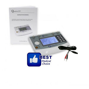 Roscoe Medical Quattro 2 5 Electrotherapy Muscle Stimulator 4 Channel Warranty2y