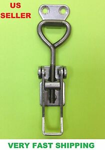 Stainless Steel Medium Draw Toggle Latch Catch For Boxes Chest Hardware 34000134