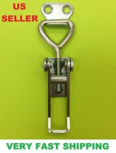 Steel Small Adjustable Toggle Latch Catch For Boxes Chest Hardware 34000131