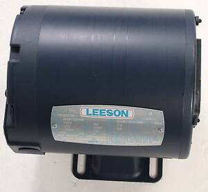 New M4s17dh16f Leeson 1 3hp Electric Motor 1725rpm Cat 101207 00 Single Phase