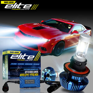 2x White P13w Led Bulbs 8000lm For Chevy Camaro Fog Lamp Driving Light