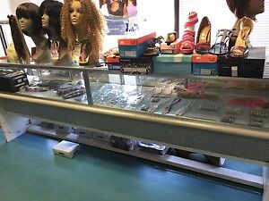 Lighted Retail Glass Display Case
