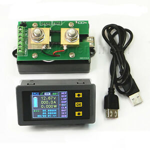 Dc Battery 120v 300a Lcd Voltage Current Watt Power Capacit Digital Combo Meter
