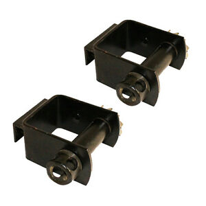 Two 2x 4 Portable Bolt On Attachment Winch Trailer Truck Standard Pocket