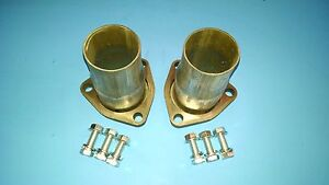 2 50 To 2 25 Outlet 3 Bolt Exhaust Header Gasket Style Collector Reducers Usa