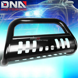 For 00 07 Toyota Tundra sequoia Stainless Steel Black Bull Bar Push Grill Guard