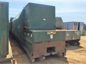 Trash Garbage Recycling 35yd Ptr Self Contain Compactor