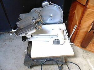 Berkel Commercial Meat Slicer Us Slicing Co Usa Model Gc 12 1 4hp Lcal Pick Up