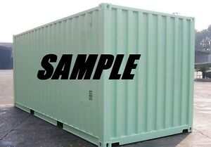 New One Trip 20ft Shipping Container Storage Container For Sale In Houston Tx