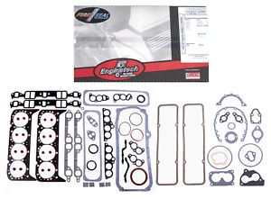 1986 1995 Chevy Sbc Truck 350 5 7l V8 1 Pc Rear Seal Full Complete Gasket Set