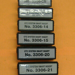 Otc System Smart Inserts For Otc Genisys Monitor 4000 Mentor
