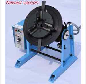 50kg Duty Welding Positioner Turntable Timing With 200mm Chuck 220v 110v
