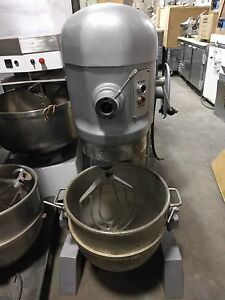 Hobart 60 Quart 60 qt Pizza Dough Restaurant Floor Mixer 753