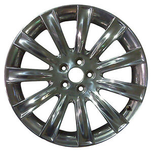 03764 Oem Reconditioned Wheel 20 X 8 Fits 2009 2011 Lincoln Mks Chrome Plated