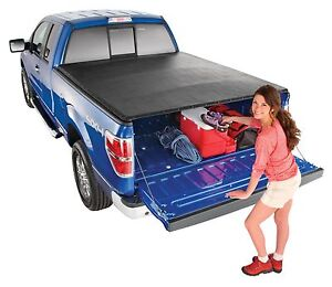 Extang 9795 Snap On Roll Up Tonneau Truck Cover 2004 2008 Ford F 150 8 Long Bed