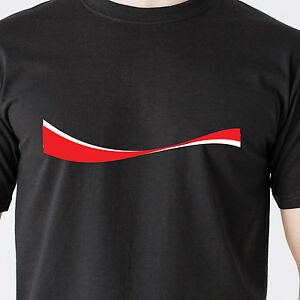 coca-cola coke ribbon pepsi soda pop soft drink food fat caffeine Funny T-Shirt