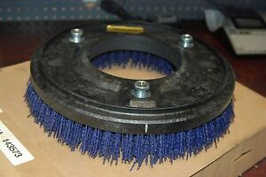 Flo pac 12000stp74 12 Industrial Floor Sweeper Strata grit Rotary W p74 New