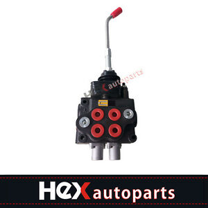 New Hydraulic Loader Directional Control Valve Lv22rfstkab With Joystick Regen