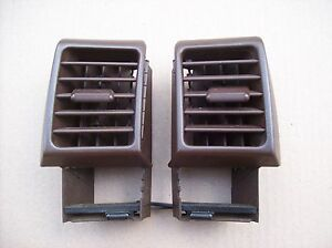 Porsche 968 944 Turbo S2 Dashboard A C Vents Dash Ac Air Fan Vents In Brown