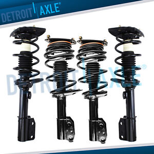 Chevy Impala Monte Carlo Intrigue 4 Front Rear Quick Strut With Coil Spring