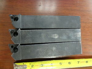 3 Valenite Indexable Lathe Tool Holder 1 25 x7 Shank Ltjkl 20a