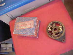 Auto Lite Gce 2002s Continental Engine Generator End Plate Buda Michigan Bucyrus