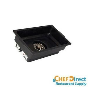 Electric Full Size Chafer Water Pan W Adjustable Temperature Control 900w