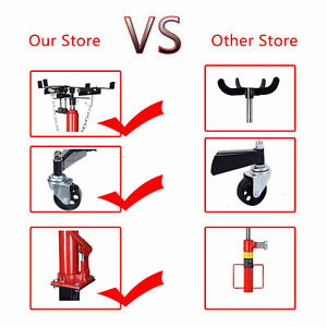 0 5 T 1100 Lbs 51 To 71 Hydraulic Manual Transmission Jack For Car Auto Lift