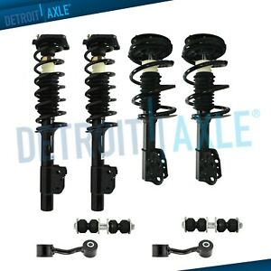 Front Rear Struts Sway Bars Assembly For Chevy Malibu Classic Pontiac Grand Am