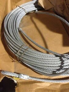 Reliance 6070 200 Horizontal Lifeline 200 X 3 8 7x19 Galvanized Xips Wire Rope