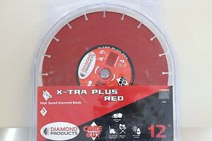 Diamond Products Core Cut 12 Extra Plus Hand Saw Blade Asphalt Concrete Block