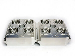 (2) Dillon RL550BC  BL550 Style Billet Aluminum tool head CNC Made Toolhead