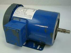 Marathon Electric Motor Ph3 1 1 2hp Nvn 56t34f5543d P