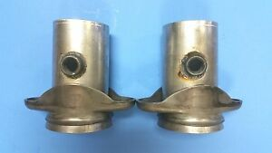 3 Header To 3 Aluminized Socket W 02 Bungs 2 Bolt Header Collector Reducers