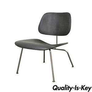 Early Herman Miller Charles Ray Eames Lcm Ebony Mid Century Modern Lounge Chair