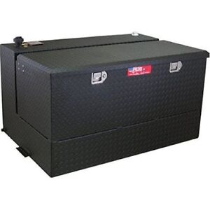 Rds 72367pc 95 Gallons Fuel Transfer Tank Toolbox Combo Black Powdercoated