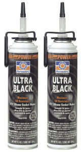 Ultra Black Max Oil Resistance Rtv Silicone Gasket Maker 2 Pack Per85080 2pk