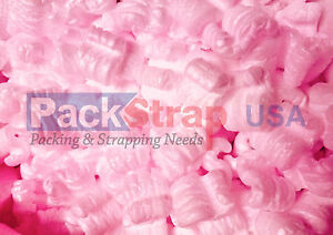 Packing Peanuts Shipping Anti Static Fill Popcorn 120 Gallons 16 Cu Ft Pink