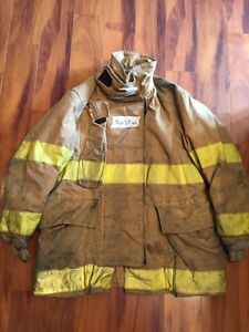 Firefighter Globe Turnout Bunker Coat 46x35 Halloween Costume