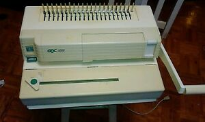 gbc 4000 binding machine
