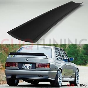 Universal Gurney Flap trunk Spoiler Addon Ducktail Lip Wing Jdm Drift Evo