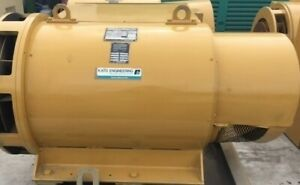 600kw Kato Generator End 277 480v 60hz 1800rpm 121hours